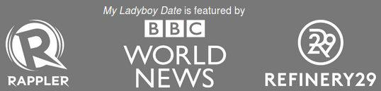 Los medios y revistas homosexuales y transexuales recomiendan My Ladyboy Date como el mejor sitio de citas