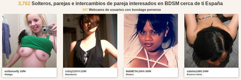 Alt.com es un sitio web de citas BDSM para los amantes del fetiche español