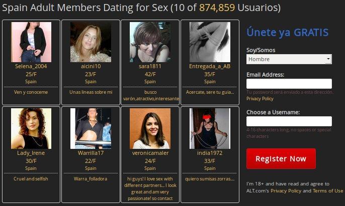 Cómo crear una cuenta en un sitio de citas BDSM: ALT.com