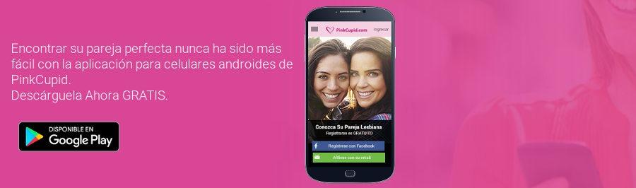 Pink Cupid tiene una aplicación para usar el sitio de citas desde tu teléfono