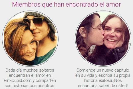 Testimonios y opiniones de clientes lesbianas que comparten su experiencia con PinkCupid